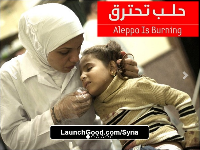 aleppo is burning